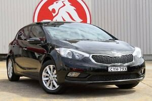 2014 Kia Cerato YD MY14 SI Black 6 Speed Sports Automatic Hatchback Lansvale Liverpool Area Preview