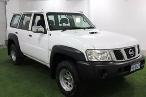 2006 Nissan Patrol GU IV MY05 DX White 4 Speed Automatic Wagon Moonah Glenorchy Area Preview