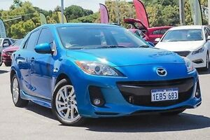 2012 Mazda 3 BL10F2 MY13 Maxx Sport Blue 6 Speed Manual Hatchback Myaree Melville Area Preview