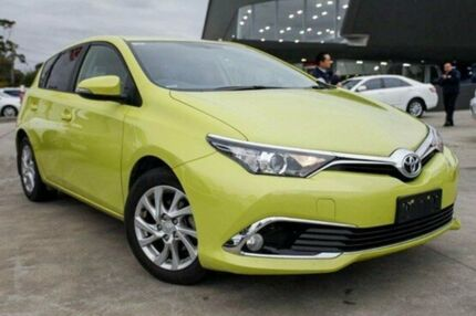 2016 Toyota Corolla Yellow Constant Variable Hatchback