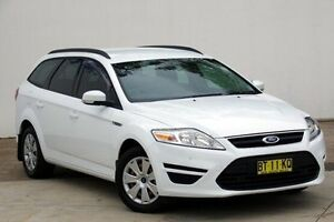 2012 Ford Mondeo MC LX PwrShift TDCi White 6 Speed Sports Automatic Dual Clutch Wagon Blacktown Blacktown Area Preview