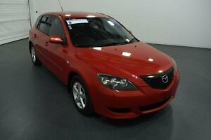 2005 Mazda 3 BK Maxx Red 5 Speed Manual Hatchback Moorabbin Kingston Area Preview