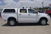 2014 Toyota Hilux KUN26R MY14 SR Double Cab White 5 Speed Automatic Utility Woolloongabba Brisbane South West Preview