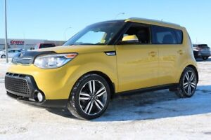 2015 Kia Soul SX LUXURY Accident Free,  Navigation (GPS),  Leath