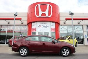 2013 Honda Civic Sdn LX - FANCY RED -