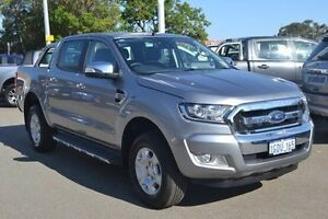 2016 Ford Ranger PX MkII XLT Double Cab Grey 6 Speed Sports Automatic Utility Midland Swan Area Preview