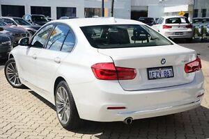 2016 BMW 318I F30 LCI Luxury Line White 8 Speed Sports Automatic Sedan Victoria Park Victoria Park Area Preview