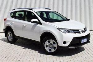 2013 Toyota RAV4 White Constant Variable Wagon Embleton Bayswater Area Preview