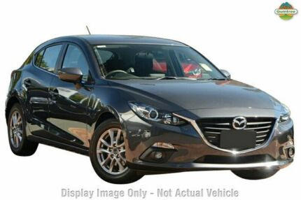 2015 Mazda 3 BM MY15 Maxx Meteor Grey 6 Speed Automatic Hatchback Liverpool Liverpool Area Preview