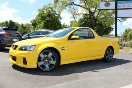 2011 Holden Ute VE II SS Thunder Yellow 6 Speed Manual Utility