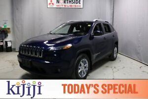 2016 Jeep Cherokee 4WD NORTH Heated Seats,  Back-up Cam,  Blueto