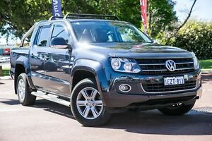 2014 Volkswagen Amarok 2H MY14 TDI420 4Motion Perm Highline Blue 8 Speed Automatic Utility Wilson Canning Area Preview
