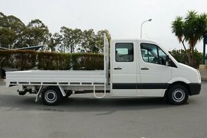 2009 Volkswagen Crafter 2EF1 MY09 35 LWB White 6 Speed Manual Cab Chassis Acacia Ridge Brisbane South West Preview