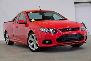 2012 Ford Falcon FG MkII XR6 Ute Super Cab Red 6 Speed Manual Utility Seven Hills Blacktown Area Preview