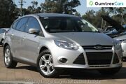 2012 Ford Focus LW MKII Trend PwrShift Silver 6 Speed Sports Automatic Dual Clutch Hatchback Ringwood East Maroondah Area Preview