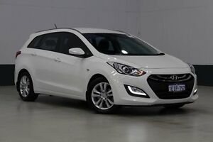 2013 Hyundai i30 GD Tourer Active 1.6 CRDi White 6 Speed Automatic Wagon Bentley Canning Area Preview