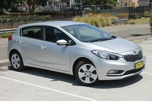 2015 Kia Cerato YD MY15 S Silver 6 Speed Sports Automatic Hatchback Wolli Creek Rockdale Area Preview