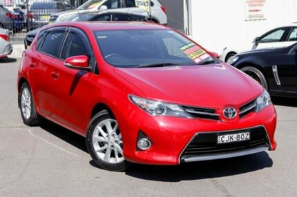 2012 Toyota Corolla ZRE152R MY11 Ascent Sport Red 4 Speed Automatic Hatchback