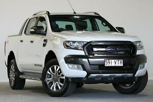 2016 Ford Ranger PX MkII Wildtrak 3.2 (4x4) White 6 Speed Automatic Dual Cab Pick-up Coopers Plains Brisbane South West Preview