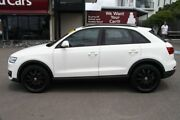 2012 Audi Q3 8U MY13 TFSI S tronic quattro White 7 Speed Sports Automatic Dual Clutch Wagon Mount Gravatt Brisbane South East Preview