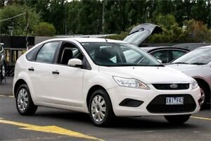 2010 Ford Focus LV CL White 4 Speed Sports Automatic Hatchback Ringwood East Maroondah Area Preview