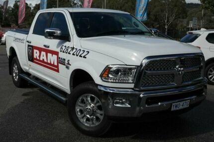 2017 RAM 2500 MY17 Laramie Crew Cab Short Box RamBox Bright White 6 Speed Automatic Utility