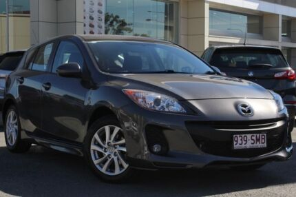 2012 Mazda 3 BL10F2 Maxx Activematic Sport Gunmetal 5 Speed Sports Automatic Hatchback Springwood Logan Area Preview
