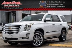 2017 Cadillac Escalade Platinum 4x4|Rr DVD's|Heated Seats|BOSE|K