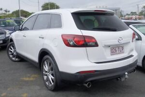 2013 Mazda CX-9 TB10A5 Luxury Activematic AWD White 6 Speed Sports Automatic Wagon