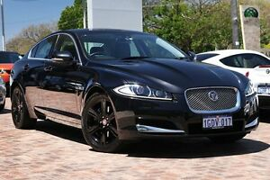 2011 Jaguar XF X250 MY12 Luxury Black 8 Speed Sports Automatic Sedan Osborne Park Stirling Area Preview