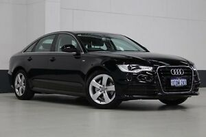2014 Audi A6 4GL MY14 2.0 TFSI Black 7 Speed CVT Multitronic Sedan Bentley Canning Area Preview