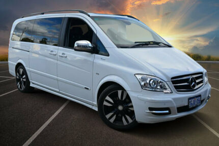 2013 Mercedes-Benz Viano 639 Avantgarde Grand Edition White 5 Speed Auto Touchshift Wagon Kewdale Belmont Area Preview