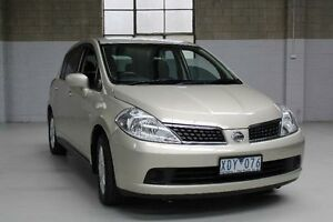 2007 Nissan Tiida C11 ST-L Gold 4 Speed Automatic Hatchback Knoxfield Knox Area Preview