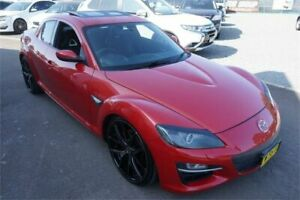 2008 Mazda RX-8 FE1032 Luxury Red 6 Speed Manual Coupe Revesby Bankstown Area Preview