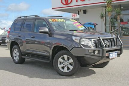 2014 Toyota Landcruiser Prado KDJ150R MY14 GXL Graphite 5 Speed Sports Automatic Wagon