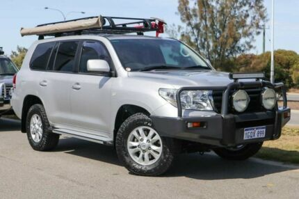 2011 Toyota Landcruiser VDJ200R MY10 GXL Silver Pearl 6 Speed Sports Automatic Wagon Clarkson Wanneroo Area Preview
