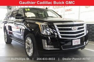 2016 Cadillac Escalade ESV Premium Collection AWD, Sunroof, Nav.