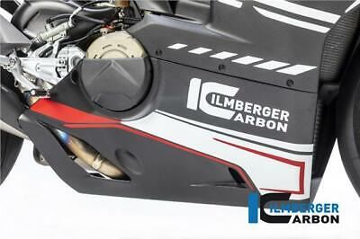 Ilmberger GLOSS Carbon Bellypan For Slip-On Akrapovic Ducati Panigale V4R 2019