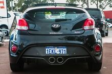 2014 Hyundai Veloster FS3 SR Coupe Turbo Black 6 Speed Manual Hatchback Cannington Canning Area Preview