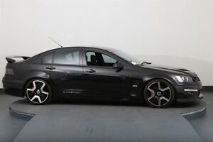 2009 Holden Special Vehicles Clubsport E Series MY08 Upgrade R8 Black 6 Speed Manual Sedan Smithfield Parramatta Area Preview
