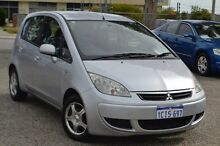 2006 Mitsubishi Colt RG MY06.5 ES Silver 5 Speed Manual Hatchback Pearsall Wanneroo Area Preview