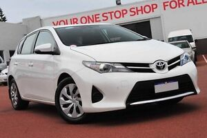 2014 Toyota Corolla ZRE182R Ascent S-CVT White 7 Speed Constant Variable Hatchback Balcatta Stirling Area Preview