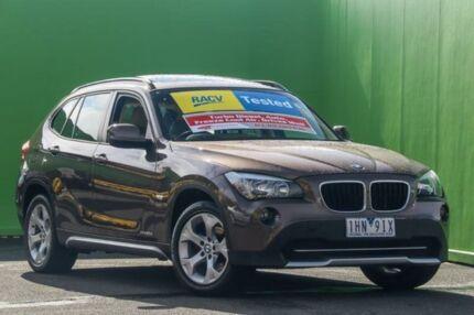 2010 BMW X1 E84 MY11 xDrive20d Steptronic Brown 6 Speed Sports Automatic Wagon