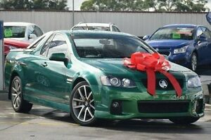 2011 Holden Ute VE II SS V Green 6 Speed Sports Automatic Utility Thornleigh Hornsby Area Preview