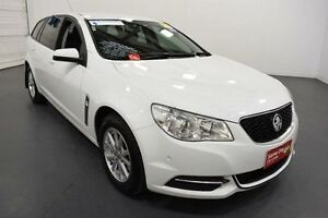 2013 Holden Commodore VF Evoke (LPG) Heron White 6 Speed Automatic Sportswagon Moorabbin Kingston Area Preview