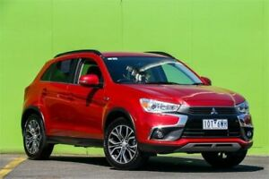 2017 Mitsubishi ASX XC MY17 LS Red Constant Variable Wagon