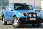 2008 Nissan Navara D40 ST-X Blue 5 Speed Automatic Utility Wavell Heights Brisbane North East Preview
