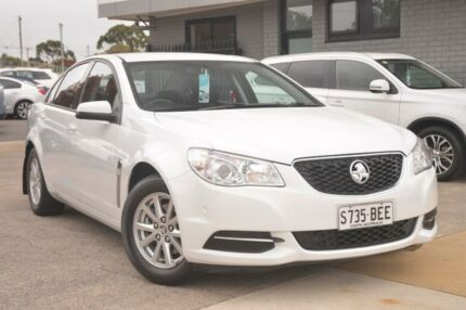 2013 Holden Commodore VF MY14 Evoke White 6 Speed Sports Automatic Sedan Hillcrest Port Adelaide Area Preview