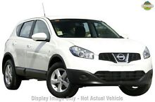 2012 Nissan Dualis J10W Series 3 MY12 ST Hatch 2WD White 6 Speed Manual Hatchback Osborne Park Stirling Area Preview