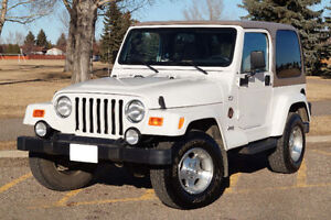 2002 Jeep Wrangler Sahara Low Kms